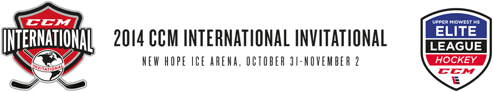 2014 CCM International Invitational, Minnesota, October 31 - November 2